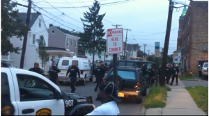 NJ Cops arrive on the scene to squash dissent